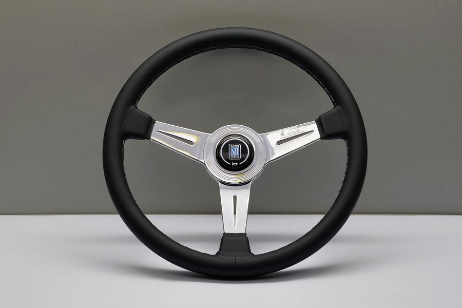 Nardi Classic 360мм черная кожа