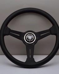 Nardi Classic 330мм перфорированная черная кожа 3